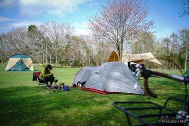 自転車でキャンプに行ってきた話~野幌森林公園編Vol.2