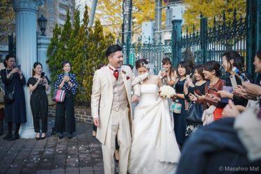 週末の結婚式